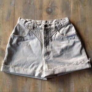 🌿Vintage high waisted shorts